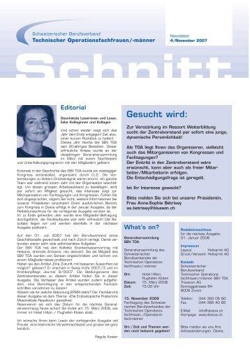 Newsletter 4-2007 - SBV TOA
