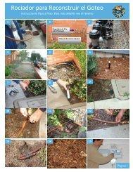 Sprinkler to Drip Retrofit SPANISH - City of Santa Barbara