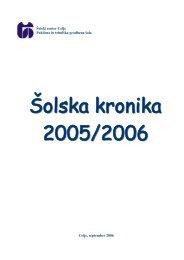 Åolska kronika 2005-2006 - Åolski center Celje