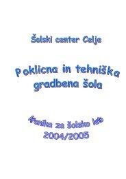 Åolska kronika 2004-2005 - Åolski center Celje