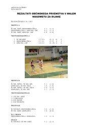 Mali nogomet - DIJAKI.pdf - Åolski center Novo mesto