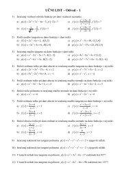 UČNI LIST – Odvod – 1 ( ) ( ) ( ) ( ) ( ) ( ) ( ) ( ) ( ) ( ) ( ) ( ) ( ) ( ) c) ( ) 4 d ...