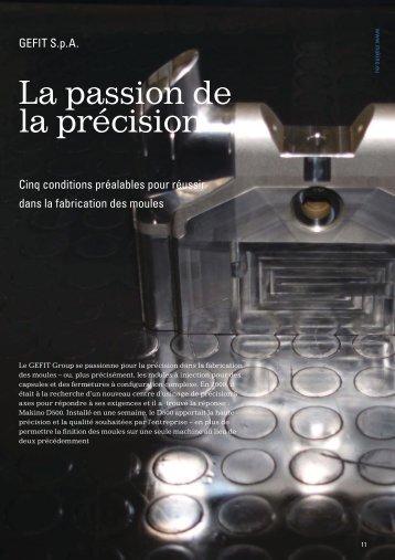 La passion de la précision - Makino Europe
