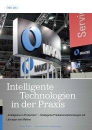 Intelligente Technologien in der Praxis - Makino Europe