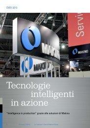 Tecnologie intelligenti in azione - Makino Europe