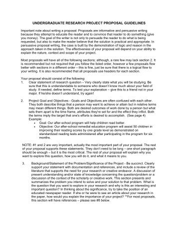 Mp4916 Undergraduate Research Project Proposal 1 Title Ucsi