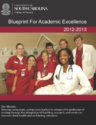 Blueprint for Academic Excellence at USC College of Nursing