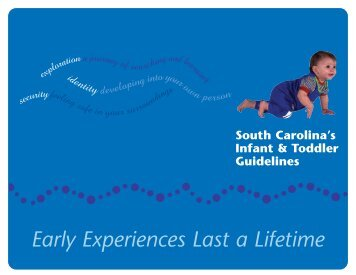 South Carolina's Infant & Toddler Guidelines - SC Department of ...