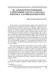 el adolescente inmigrado latinoamericano en la escuela española ...