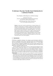 Evolutionary Bayesian Classifier-based Optimization in Continuous ...