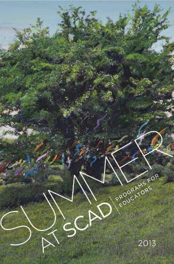 Download Summer at SCAD: Programs for Educators brochure