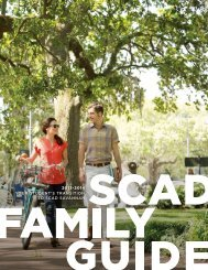 A Guide for Families PDF - Savannah College of Art and Design