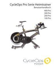 Cycleops pro Serie Heimtrainer