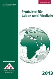 Katalog 2013 - Heinz Herenz Medizinalbedarf GmbH