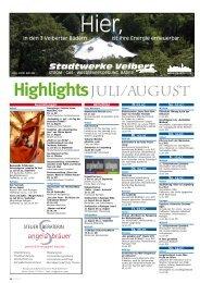 Highlights JuLi/August - scala-regional.de