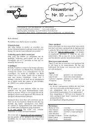 Nieuwsbrief - Scala