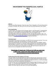nieuwsbrief peuterspeelzaal nijntje september 2008 - Scala-Welzijn