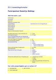 E2.0 Aanmeldingsformulier Peuterspeelzaal ... - Scala-Welzijn