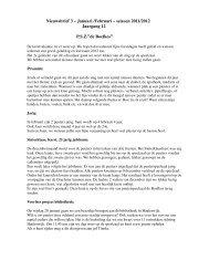 Nieuwsbrief 3 Ã…Â' Januari /Februari Ã…Â' seizoen 2011/2012 - Scala