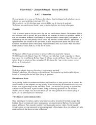 Nieuwsbrief 3 Ã…Â' Januari/Februari Ã…Â' Seizoen 2011/2012 - Scala