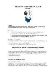 nieuwsbrief peuterspeelzaal nijntje september 2008 - Scala