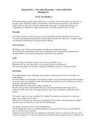 Nieuwsbrief 2 Ã…Â' November/December Ã…Â' seizoen 2011/2012 - Scala