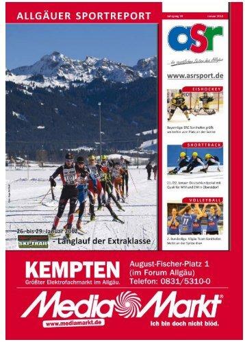 ERC Sonthofen imponiert - Allgäu Sport Report