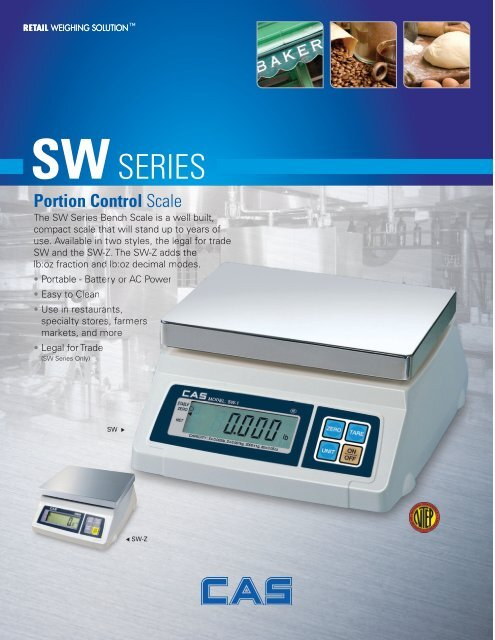 Brochure for SW-1
