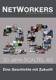 NETWORKERS 0212 - 20 Jahre SCALTEL AG (9.8 MB)