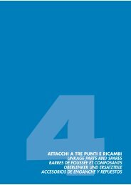 4attacchi a tre punti e ricambi linkage parts and spares ... - Scan-Agro