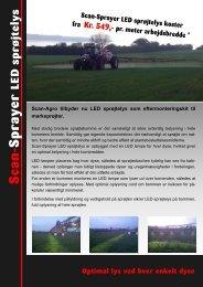 2011 Scan-Sprayer LED Sproejtelys - Scan-Agro