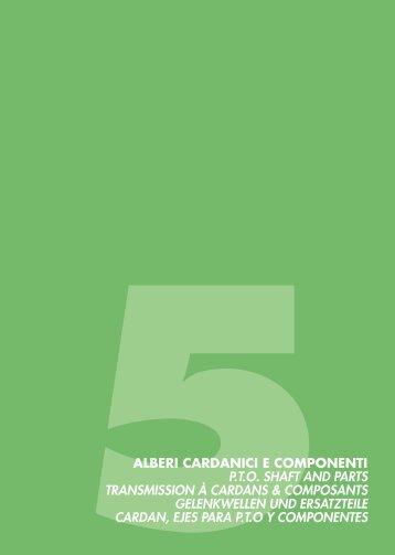 alberi cardanici e componenti - Scan-Agro