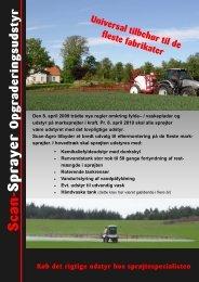 2009 Scan-Sprayer opgraderingsudstyr - Scan-Agro