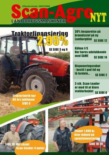 Traktorfinansiering - Scan-Agro