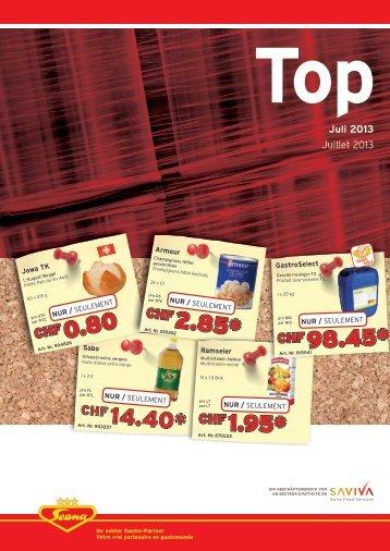 Juli 2013 - Scana Lebensmittel AG