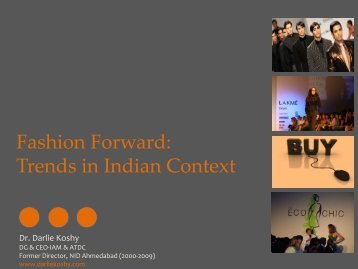 Fashion Forward: Trends in Indian Context - Atexcon
