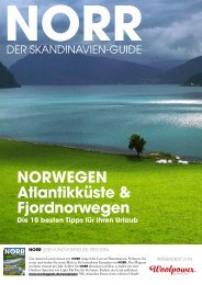 NORWEGEN Atlantikküste & Fjordnorwegen - Scandic Outdoor ...