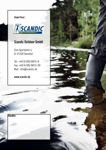 Download (PDF 692 KB) - Scandic Outdoor GmbH, D-21220 Seevetal