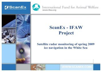 ScanEx - IFAW Project