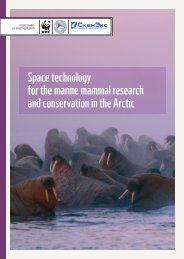 Space technology for the marine mammal research and ...