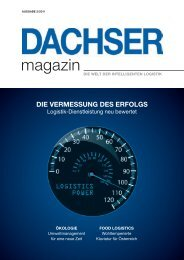 magazin - bei Dachser