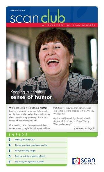 sense of humor - SCAN Health Plan