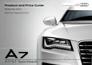 Product and Price Guide - Audi
