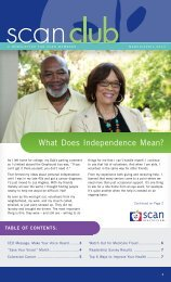 What Does Independence Mean? - SCAN Health Plan