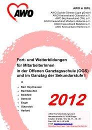 Fortbildung - AWO Kreisverband Herford e.V.