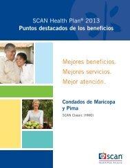 Puntos Destacados - 2013 - SCAN Health Plan