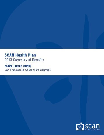 Summary of Benefits - SCAN Health Plan