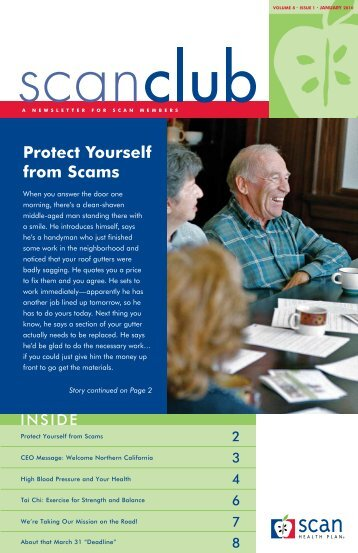 Protect Yourself from Scams - SCAN Health Plan