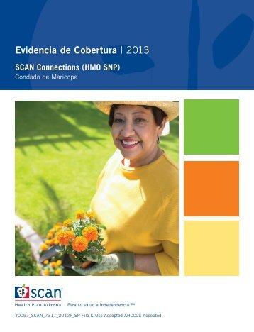 Evidencia de cobertura - 2013 - SCAN Health Plan