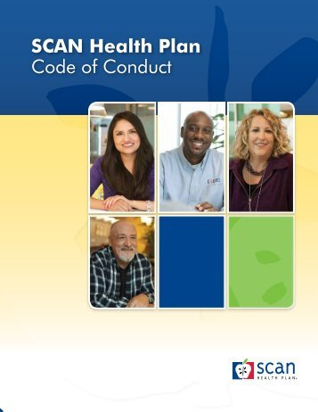 SCAN Health Plan code of conduct